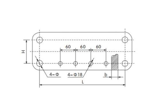 Square yoke plate-LF-LJ 1